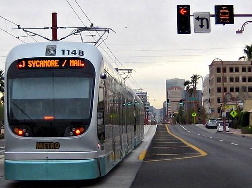 public transportation in Phoenix (by: John Hall & Associates, creative commons license)