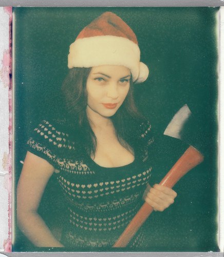 Queen of Halloween's Christmas / Impossible PZ 680 Color Shade film