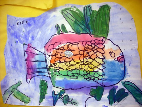 Day 61 - Rainbow Fish by Karin Beil