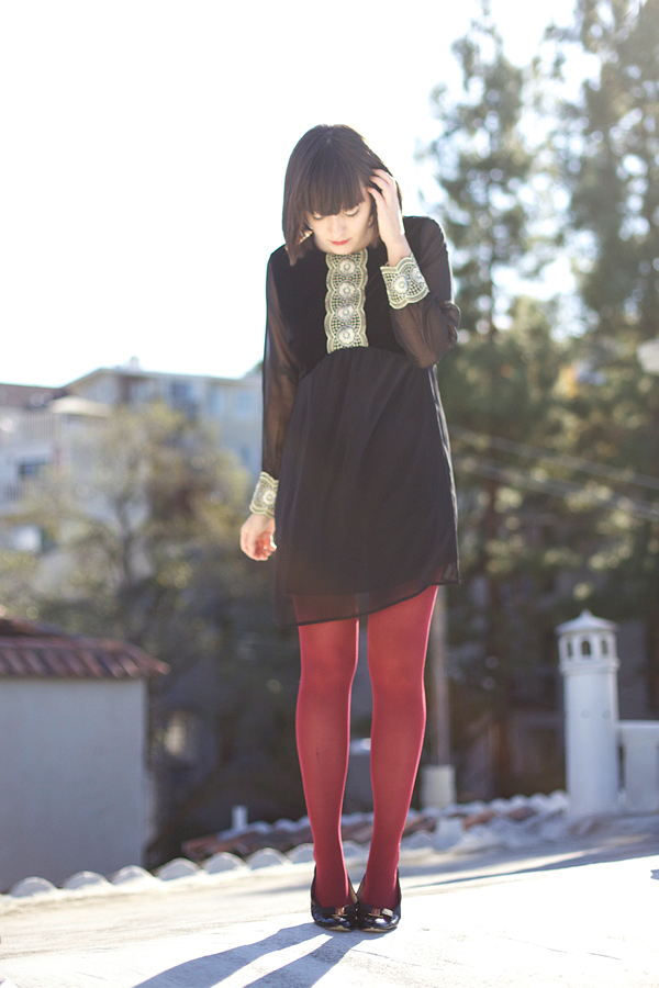 calivintage: velvet and gold