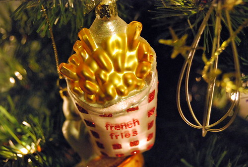 Second french fries ornament