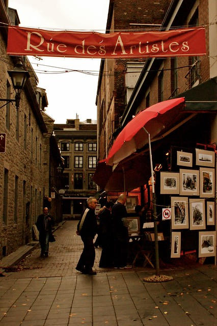 Side street in Montreal - Flickr CC Christina*23