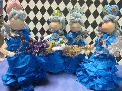 Ice Tree Queen Ornament Dolls! 17
