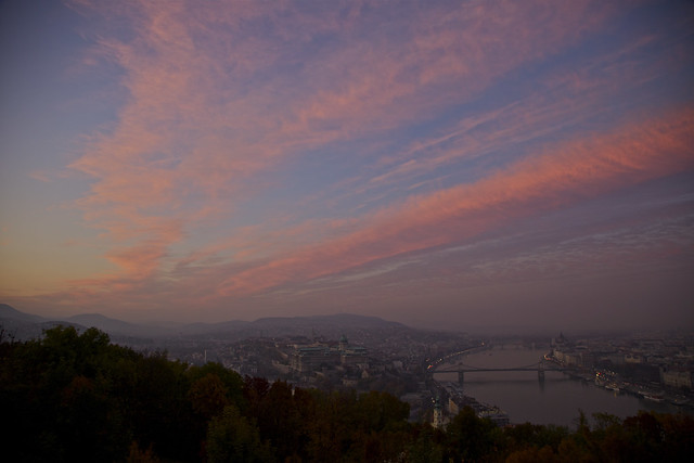 Danube Sundown