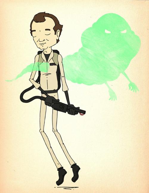 desenhos nerds - ghostbusters