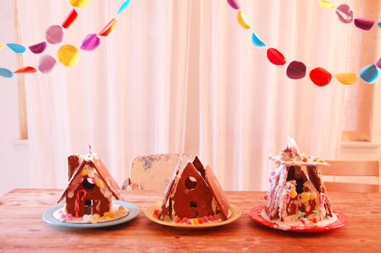 gingerbread house birthday party