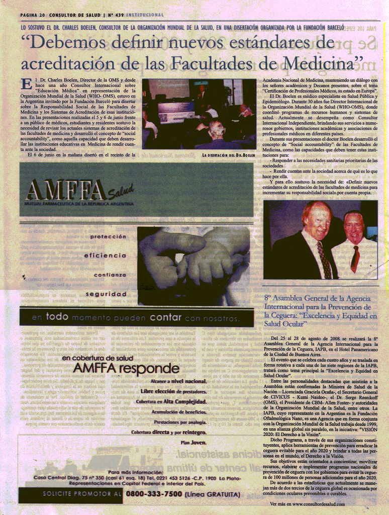 Consultor de Salud Julio 08