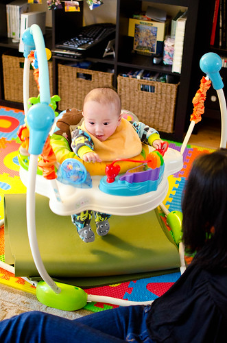 Jumperoo with Mommy