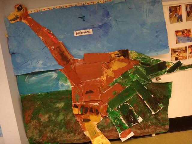 Brachiosaurus / Preschool Art