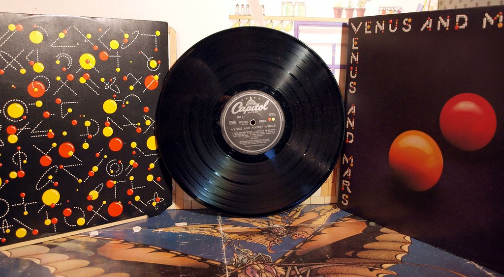 paul mccartney, wings, venus and mars, | badgreeb RECORDS