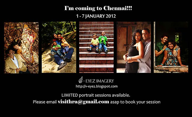 I'm coming to Chennai ;)