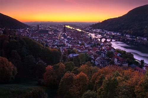 Heidelberg - Autumn Twilight