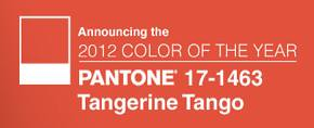 Color of the Year Tangerine Tango