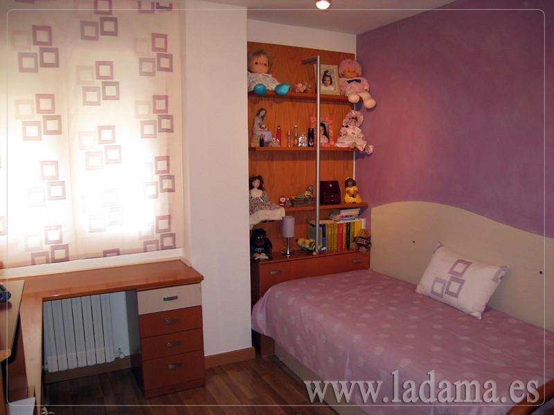 Fotograf as de cortinas juveniles la dama decoraci n - Estores para habitaciones ...