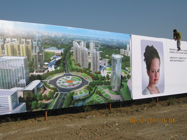 Life Republic, Kolte-Patil Developers' Marunji-Hinjewadi Township, Pune 411 057, getting ready for launch on 9th December 2011