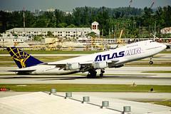 N506MC Boeing 747-2D3B(F) Atlas Air Cargo MIA 28JAN99
