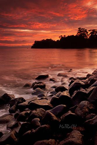 sea sunrise maluku ternate moluccas sulamadaha matrach southhalmahera
