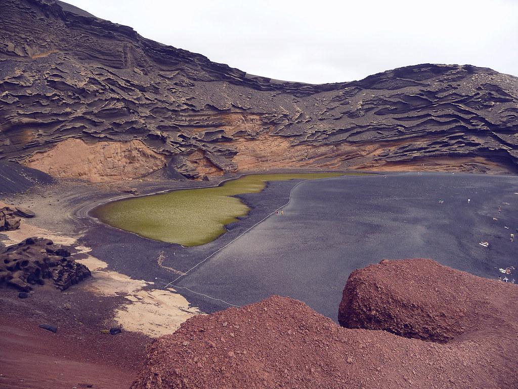 Isla volcánica de Lanzarote. España