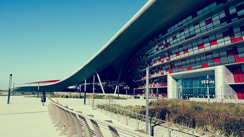 Ferrari World building