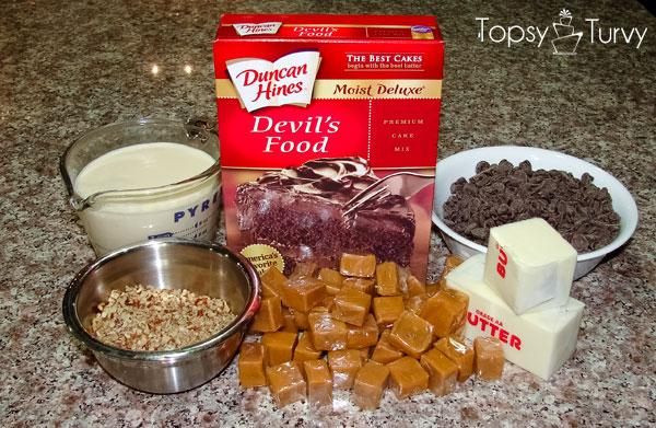 caramel-brownies-ingredients
