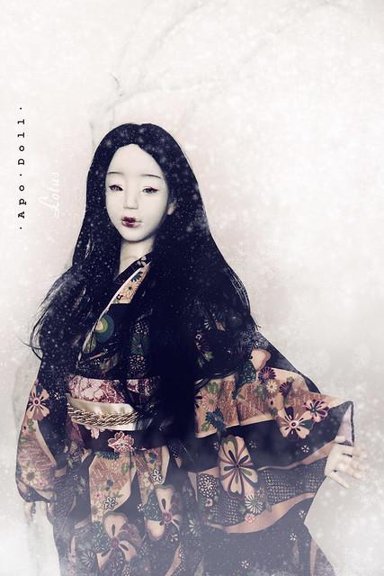 · A p o · D o l l ·   Lotus (1/3 tête asiatique) - Makeup!! 6506212017_5cd01154b6_z