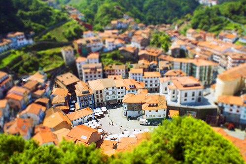 Tilt Shift Cudillero
