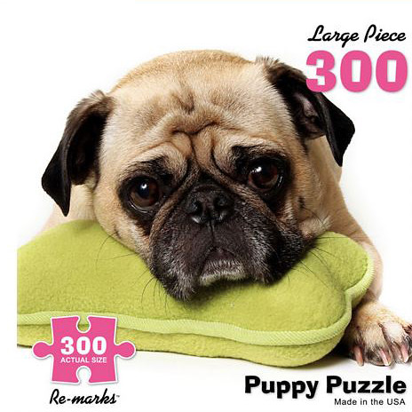 Puppy Puzzle by Megan Lorenz