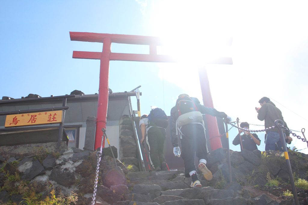 Mt. Fuji experience report (Yoshida route) Part1 (20)