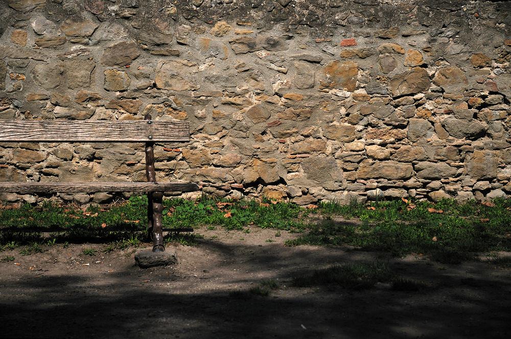 Dos au mur
