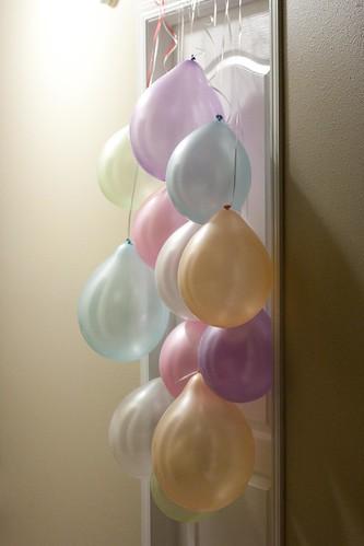 7th Birthday Wake Up Balloons.