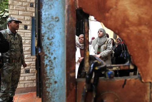 Egyptians went to the polls again on December 14, 2011 in the continuing phased elections for a new parliament. The elections have scored tremendous victories for the Islamist parties. by Pan-African News Wire File Photos