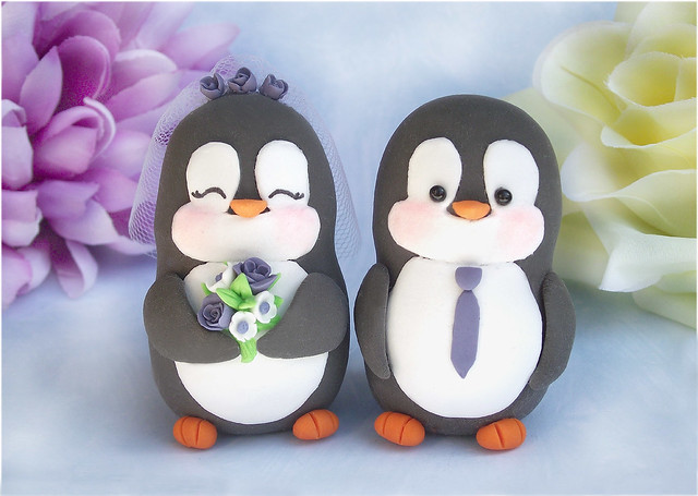 Penguin wedding