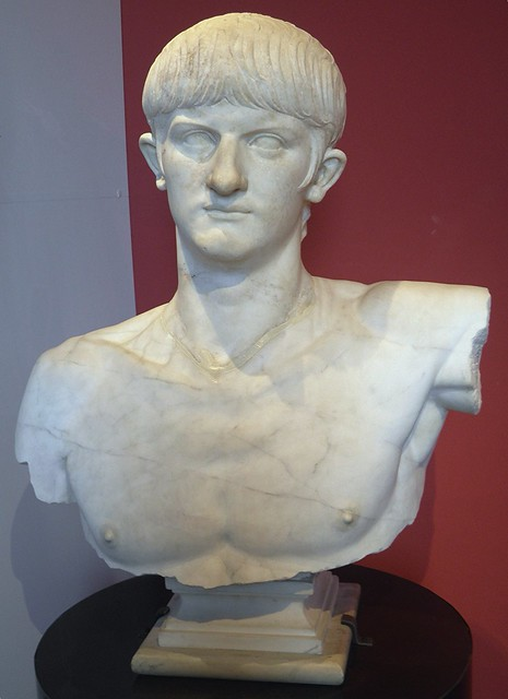 Bust of Nero, from Olbia, AD 54/55-59