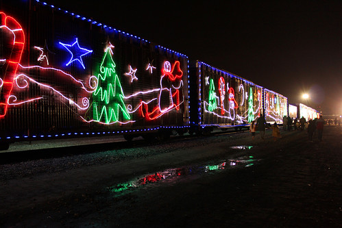 The CP Holiday Train (by: Di Benard, creative commons license)