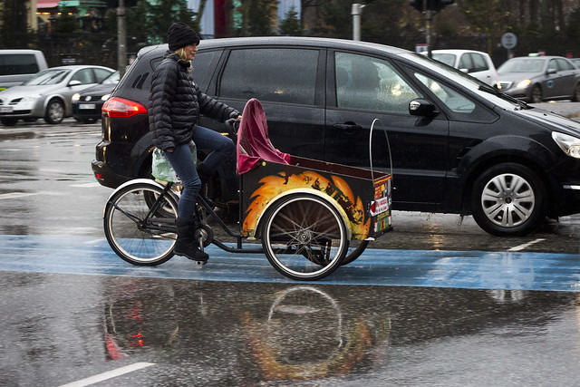 Rainy Cargo Bike