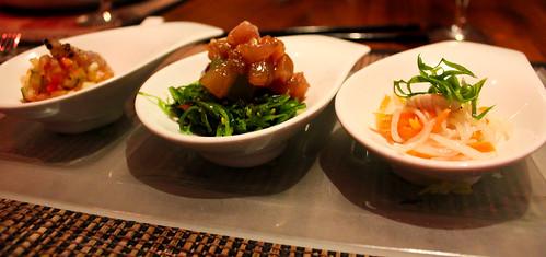 Tuna Sampler Appetizer from Tao