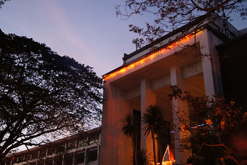 Melchor Hall, in Lights