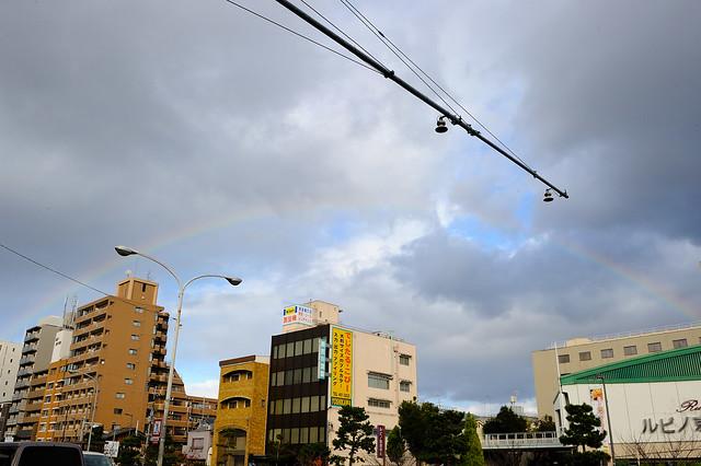 半圓形彩虹
