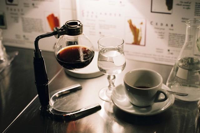 Labo de caféine
