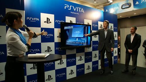 Lançamento PS Vita no Japão
