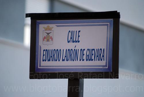 Placas: Calle Eduardo Ladrón de Guevara