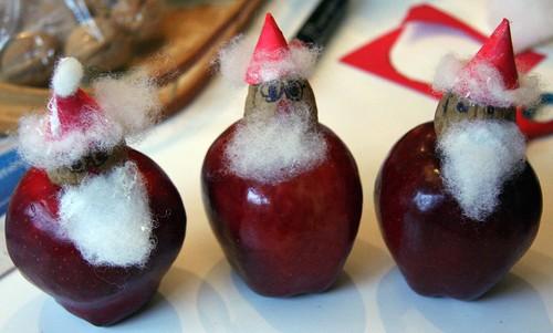 Apple Santas