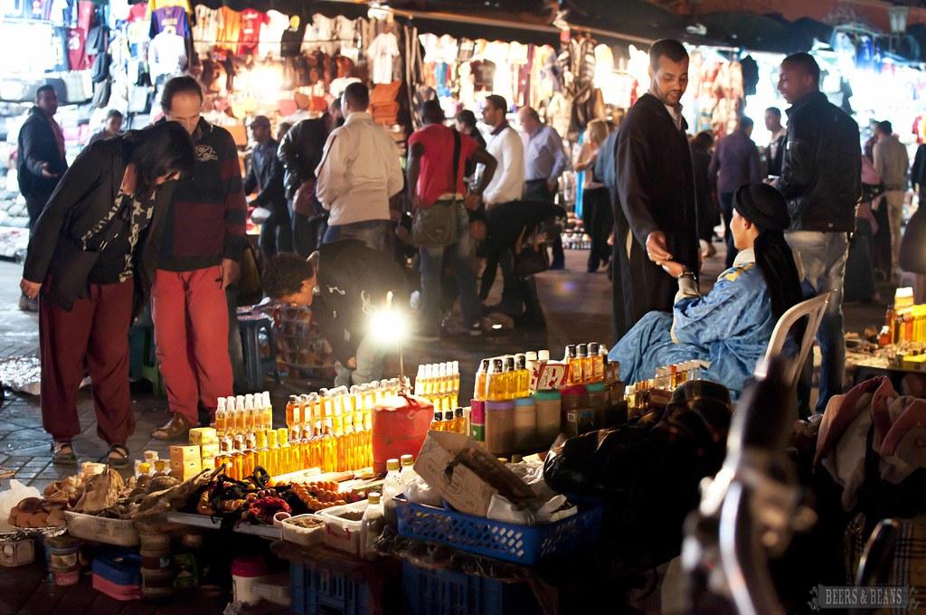 Marrakech Medina after Dark