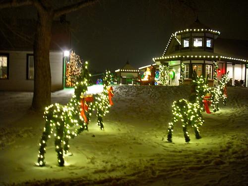 Christmas Lights At Chatfield