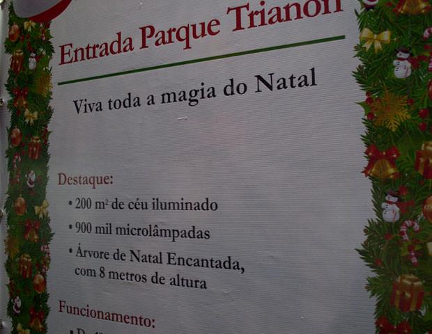 Natal 2011 na Avenida Paulista 5