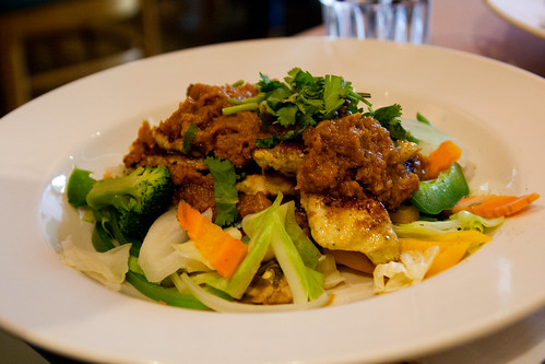 Thai Rama Chicken at Little Bangkok