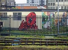 Waterloo Station Graffiti - Dec 2011 - Screaming Behind Bars