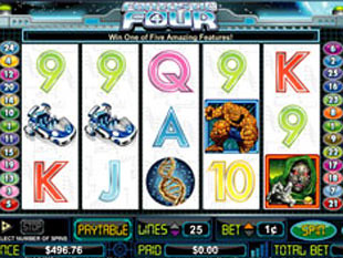 Fantastic Four slot game online review