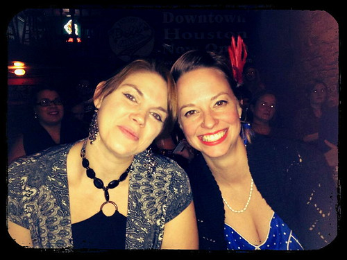 At Pete's Dueling Piano Bar in Austin with some friends