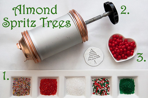 Almond Spritz Trees